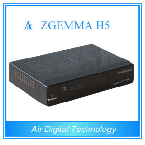 Satellite Decoder DVB S2 DVB T2 DVB C Support Kodi Hevc/H. 265 with IPTV Genuine Zgemma H5 pictures & photos