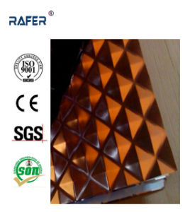 Checkered/Chequered Embossed Steel Sheet with Color (RA-C033) pictures & photos