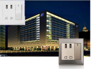 Factory Price of Wall Socket, Electrical Socket, 2 Ports USB Universal USB Charger pictures & photos