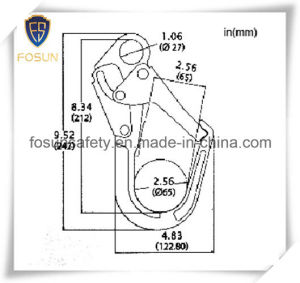 Auto Locking Forged Carbon Steel Hook pictures & photos