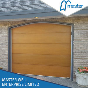 Zinc Coated Steel / Galvanized Residential French Garage Doors Sectional Panels Prices pictures & photos