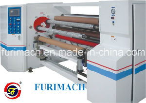 High Quality Double Shafts Automatic Interchange Tape Rewinding Machine/Fr-808 pictures & photos