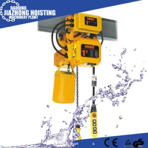 Huaxin 1ton 6meter Electric Construction Hoist for Crane pictures & photos