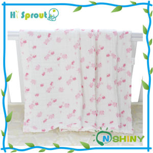 Organic Baby Wholesale Muslin Wraps Reusable Muslin Swaddle Blankets