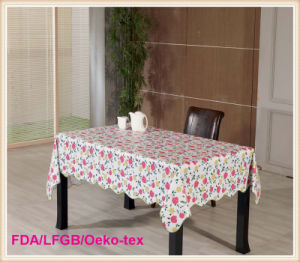 Fancy Wedding Table Cloth PVC Table Cloth pictures & photos