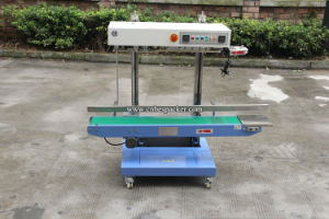 Automatic Continuous Band Sealing Bag Machine pictures & photos