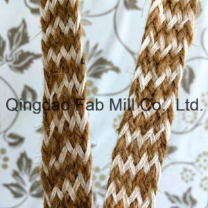 Jute Cotton Mixed Braided Webbing pictures & photos