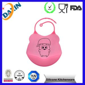 Fashionable Hot Sale Silicone Rubber for Baby Bibs pictures & photos