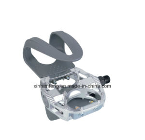 Aluminum Body and One-Piece PP Cage Bicycle Pedal (HPD-020) pictures & photos