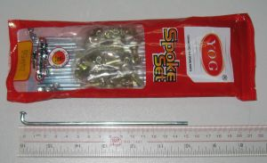 Yog Motorcycle Parts Motorcycle Spokes 9g-152mm Bajaj Boxer pictures & photos