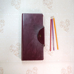 PU Leather Notebook A5 Men′s Business Book Service pictures & photos