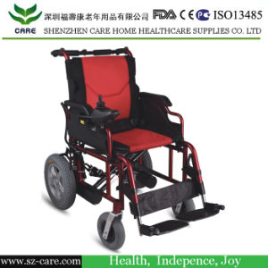 Cheapest Folding Power Electric Wheelchair (CPW17) pictures & photos