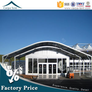 15m Width Arch Roof Trade Modular Glass Wall Commercial Tent with Long Life Span pictures & photos