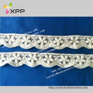 028 Water Solution Embroidery Lace pictures & photos