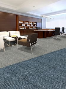 Nylon Jacquard Office Modular Carpet Tiles with PVC Backing pictures & photos