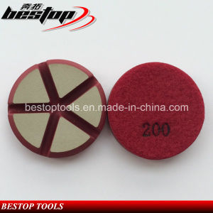 200# Dry/Wet Diamond Transitional Floor Polishing Pad for Concrete pictures & photos