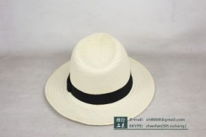 Fedora Paper Straw Hat (XH-PA2109) pictures & photos