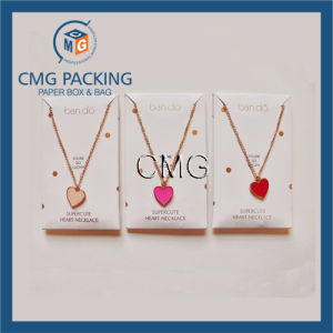 Charm Necklace Display Card Samll Box for Necklace (CMG-059) pictures & photos