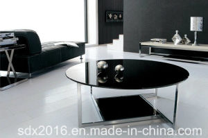 Round Table Glass on Top Home Furniture pictures & photos