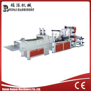Fully Automatic Four Lines T-Shirt Bag Making Machine pictures & photos