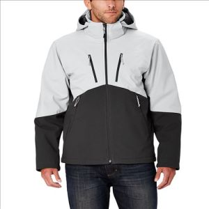 2015 Mens Waterproof Zipper Fllece Inner Outdoor Softshell Jacket pictures & photos