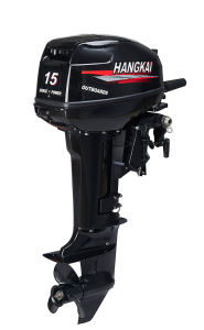 Best Powerful Hangkai 2 Stroke 15HP Outboard Boat Motor Water Cooled pictures & photos