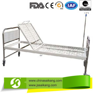 3 Position Hosptial Bed with Silent Casters pictures & photos