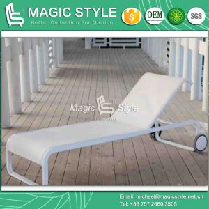 Deck Textile Sunlounger Outdoor Sling Daybed Modern Sling Lounge (Magic Style) pictures & photos