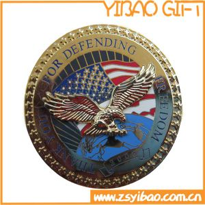 Gold /Silver/Copper or Antique Plating Two Side Custom Coin (YB-c-023) pictures & photos