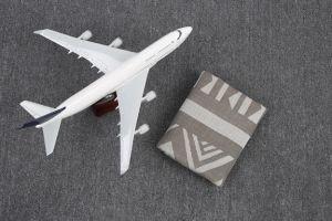100%Modacrylic Woven Airline Blanket (HF0017)
