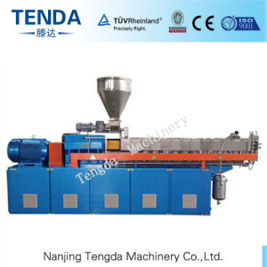 Tsh-40 Compounding Co-Rotating Twin Screw Plastic Extruder pictures & photos