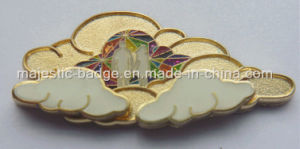 Customized Assembled Plating Gold Soft Enamel Lapel Pin pictures & photos