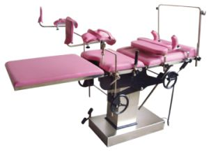 Stainless Steel Gynecological Examination Bed Jyk-B7205c pictures & photos