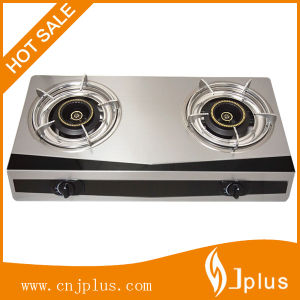 Colorful S/S Panel Body Double Burner Gas Stove Jp-Gc200 pictures & photos