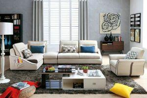 Corner Sofa L Shape Sofa Home Fabric Sofa 8232 pictures & photos