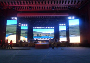 Indoor Rental P4 LED Display Screen with Die-Casting Board (576X576mm) pictures & photos