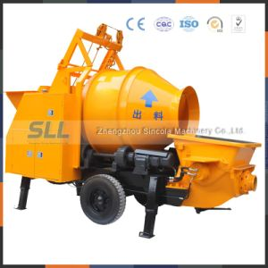 Bottom Price Mounted Concrete Mixer Pump for Export pictures & photos