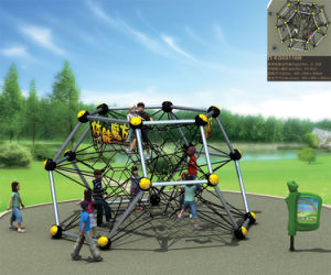 Kaiqi Group Outdoor Physical Training Rope & Net Climbing Systems for Amusement Park (KQ50116B) pictures & photos