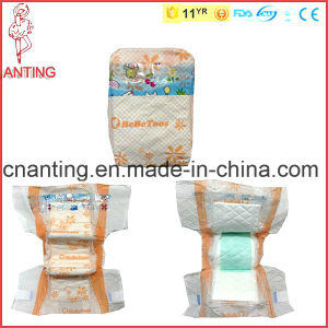 Fashionable PE Baby Diaper, Soft Wetness Indicator Baby Diaper pictures & photos