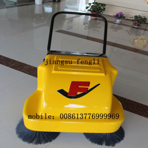 Fl100 Hand-Push Electrial Sweeper for Cleaning The Airport