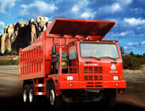 Low Price Mine King Mining Dump Truck of HOWO