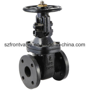 ANSI Flanged End Metal Seated Cast Iron Gate Valve pictures & photos