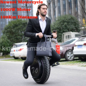 1000W 60V Lithium Battery Electric Scooter Adult Motorcycle (ES006) pictures & photos