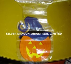 Special Shaped Plastic Printed Bag with Ziplock, Holloween Bag pictures & photos