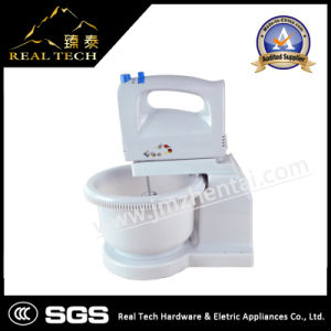 Electric Stand Egg Beater with Plastic Bowl