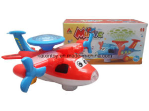 Battery Operated Plane Toys with Light and Music pictures & photos