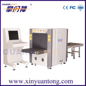 Hotel Baggage X-ray Scanner Parcel X-ray Inspection Machine Xj-6550 pictures & photos
