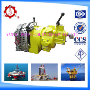 Mini Lift Hand Air Pneumatic Winch with 10kn Pull Force pictures & photos
