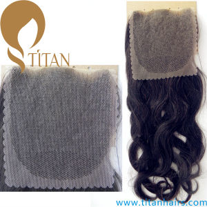 Body Wave Brazilian Virgin Human Hair Swiss Lace Closure pictures & photos
