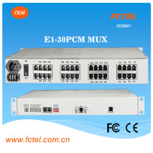 19inch 30 Channel Voice Multiplexer Over Coax Cable